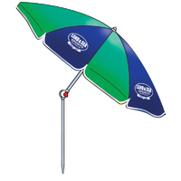 LAND & SEA PALM BEACH - RESORT TILT BEACH UMBRELLA DELUXE MULTIPLE COLOURS