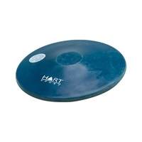 HART RUBBER ATHLETICS DISCUS - MOULDED RUBBER TRAINING DISCUS