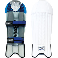 HART DIAMOND CRICKET WICKET KEEPING PADS - LIGHTWEIGHT MATERIAL