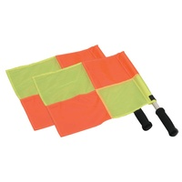 HART SOCCER LINESMAN FLAGS - HARLEQUIN STYLE NYLON FLAGS (9-736)