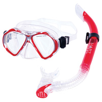 HART NEPTUNE JUNIOR SNORKEL SET - SILICONE MOUTHPIECE FOR SNUGG FIT (18-261)
