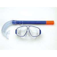 LAND & SEA ROCKPOOL SILITEX MASK AND SNORKEL SET - GREAT VALUE KIDS SET
