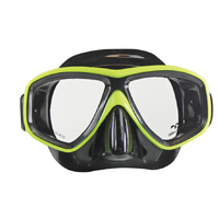LAND & SEA CLEARWATER BLACK SILICONE MASK & SNORKEL SET - GREAT VALUE SET