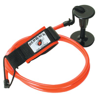 REDBACK BODY BOARD LEASH - 3 TYPES - COILED, STRAIGHT OR DELUXE COIL