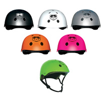 ADRENALIN SKATE HELMET - MANY COLOURS - EASY STRAP ADJUSTMENT FOR BETTER FIT