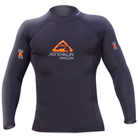 LAND & SEA THERMO HOT TOP STRETCH LONG SLEEVE TOP - BLACK OR LIME