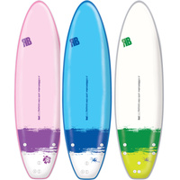 REDBACK 6' PRO-SOFT SURF BOARD WITH A SOFT FOAM DECK - 3 DESIGNS AVAILABLE