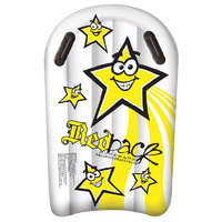 REDBACK JUNIOR ROCKET YELLOW STAR SURFMAT- JUST LIKE AN INFLATABLE BODYBOARD