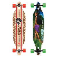 "ADRENALIN BALLISTIC DROP-THRU CRUISER 38"" SKATEBOARD - ULTIMATE STREET CARVER"