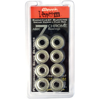 ADRENALIN VENOM ABEC 7 CHROME BEARINGS KIT - 8 PIECE SET