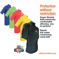 LAND & SEA MENS 2P THERMO SHIELD TOP - SHORT SLEEVE - LIFETIME WARRANTY