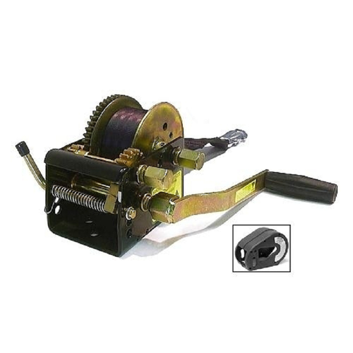 JARRETT HEAVY DUTY WINCH W/ COVER 10/5/1:1 - 7.5M WEBBING STRAP (WB-F10952WC)