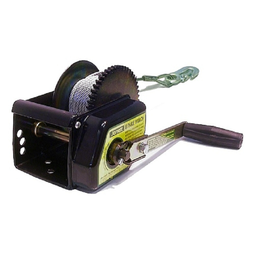 JARRETT BRAKE WINCH 5:1 - 7.5M X 5MM CABLE & SNAP HOOK (WB-F18230) BOATING