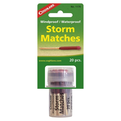 COGHLANS WINDPROOF WATERPROOF STORM MATCHES - GREAT FOR CAMPING (COG 1170)