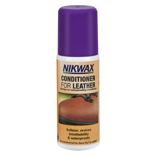 NIKWAX CONDITIONER FOR LEATHER 125ml - SOFTENS AND WATERPROOFS (NIK CON)