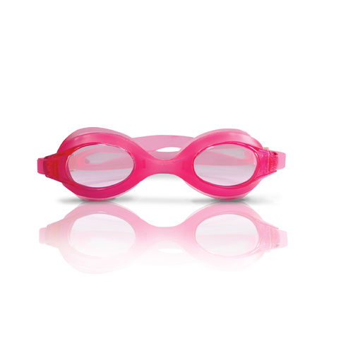 LAND & SEA 100% SILICONE LADIES GOGGLES - AQUA & PINK