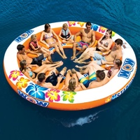 Wow Watersports Stadium Islander 12 Person Inflatable Water Tube 14-2090