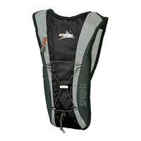 VANGO SPRINT 3L BACKPACK - BLACK - WITH 2L HYDRATION BLADDER (VRS-SPR3-EBLK)