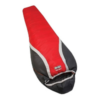 VANGO SUMMIT 5000 ASC - RED / BLACK - SLEEPING BAG (VSB-SU5000-6L) CAMPING