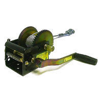 JARRETT HEAVY DUTY WINCH 5/1:1 - 6M X 5MM CABLE & SNAP HOOK (WB-F10217) BOATING