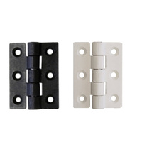 NAIRN BUTT HINGES NYLON REINFORCED - BLACK OR WHITE 45MM - 88MM BOATING FISHING