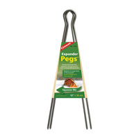 COGHLANS 12 INCH EXPANDER PEG - PACK OF 2 - FOR USE WITH TENTS (COG 1573)