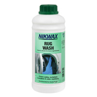NIKWAX RUG WASH 1 LITRE - ANIMAL RUG & COAT CLEANER (NIK RUGW)