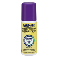 NIKWAX WATERPROOFING LIQUID WAX FOR LEATHER 125ml (NIK AQU)