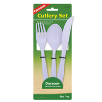 COGHLANS DURACON CUTLERY SET - IDEAL FOR OUTDOOR CUTLERY (COG 9450)
