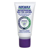 NIKWAX WATERPROOFING WAX FOR LEATHER - HIGH PERFORMANCE CREAM FOR SMOOTH LEATHER