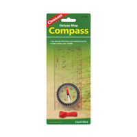 COGHLANS DELUXE MAP COMPASS - LIQUID DAMPENED NEEDLE (COG 9685)