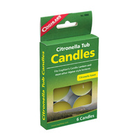 COGHLANDS CITRONELLA TUB CANDLES - FITS CANDLE LANTERN COG 8506 (COG 9806)