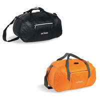 TATONKA SQUEEZY DUFFLE S 30L - BLACK OR ORANGE - TRAVEL BAG - REVERSIBLE BAG