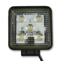 INNERCORE LED WORK LIGHT - SQUARE - CLEAR LENS - 15W - SUPER BRIGHT (PW15S)