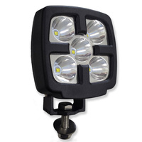 INNERCORE LED WORK LIGHT - SQUARE - 9 TO 80V - 25W - SUPER BRIGHT (PW850)