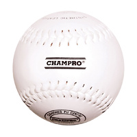 "CHAMPRO 12"" SYNTHETIC LEATHER BASEBALL - SYNTHETIC LEATHER COVER (BACBLSL12RP)"