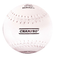 CHAMPRO 11″ SAFETY BASEBALL - SYNTHETIC LEATHER COVER (BACBLSLS11RP)