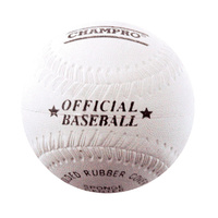 CHAMPRO 9″ RUBBER BASEBALL - SPONGE CENTRE - MOULDED RUBBER COVER (BACBLR9SRP)