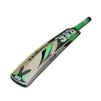 BAS BLASTER CRICKET BAT - GREEN / BLACK - HAND CRAFTED - 3 SIZES