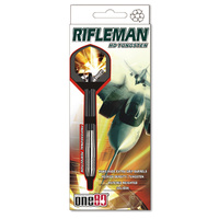 ONE80 RIFLEMAN DARTS - HD - SET OF 3 DARTS - MULTIPLE SIZES AVAILABLE