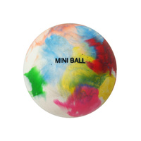 BAS MINI POLY HOCKEY BALL - SEAMLESS PVC CONSTRUCTION - COLOURFUL BALL (HKBM)
