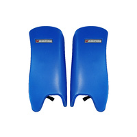 BAS VAMPIRE SUPER HOCKEY LEG GUARDS - BLUE - MEDIUM & LARGE SIZES AVAILABLE