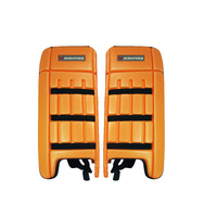 BAS VAMPIRE CENTURY HOCKEY LEG GUARDS - ORANGE - MEDIUM & LARGE SIZES AVAILABLE