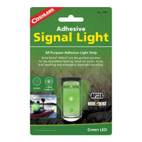 COGHLANS ADHESIVE SIGNAL LIGHT - GREEN LED - 80 HOURS RUNTIME (COG 1480)