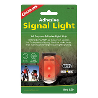 COGHLANS ADHESIVE SIGNAL LIGHT - RED LED - 80 HOURS RUNTIME (COG 1470)