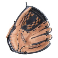 BUFFALO SPORTS LEATHER SOFTBALL / BASEBALL GLOVE - SENIOR - LTH / RHT (BASE001)