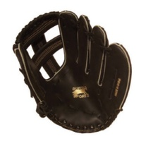 BUFFALO SPORTS LEATHER PALM SOFTBALL / BASEBALL GLOVE - 12.5 INCH (BASE004)