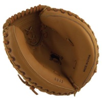 BUFFALO SPORTS LEATHER SOFTBALL / BASEBALL CATCHERS GLOVE - JUNIOR (BASE023)