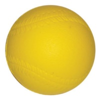 BUFFALO SPORTS FOAM SOFTBALL ROO BALL - 12CM - HIGH DENSITY PU FOAM (PLAY006)