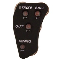 BUFFALO SPORTS BASEBALL / SOFTBALL UMPIRES COUNTER (BASE050)